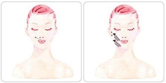 脸部刮痧的方法